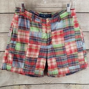 Cape Madras Plaid Camp Shorts
